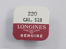 Longines Genuine Material Part #220 4th Wheel & Pinion for Longines Cal. 528