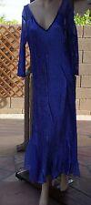 KOMAROV Embellished V-Neck Dress (size L)