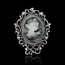 New Arrival Cameo brooch pin Grace Women lady fashion jewelry Victorian Design