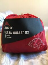 MSR Hubba Hubba NX 2 Person 3 Season Backpacking Tent