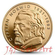 2013 Coin of Poland Polish 2zl Cyprian Norwid