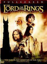 The Lord of the Rings: The Two Towers (DVD, 2003) Disc Only-Movie -Free Shipping