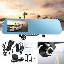 """5"""" Auto Rückspiegel LCD Monitor GPS Navigationsgerät DVR FM 8G + Rückfahrkamera"""