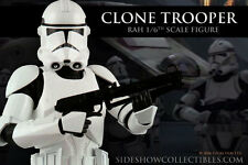 """Medicom / Sideshow Star Wars Revenge of the Sith Clone Trooper 12"""" or 1/6 Scale"""
