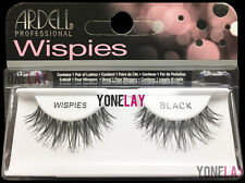4 Pairs GENUINE ARDELL Wispies Black False Eyelashes Fake Lashes Fashion Wispy