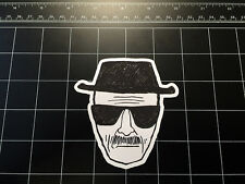 Breaking Bad Heisenberg sketch vinyl decal / sticker Walter White *Best avail!*