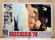 BOCCACCIO '70 fotobusta poster Romy Schneider Fellini Monicelli Visconti De Sica
