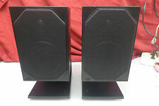 1 par de B & W cm1 cajas con soporte speaker International shippin