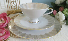 Vintage Bavaria Winterling Cabinet Cup Saucer Plate Trio With Gilding Excellent