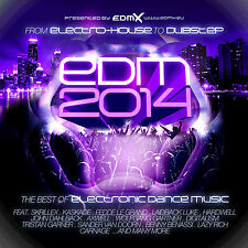 CD Edm 2014 Electronic Danse Musique d'Artistes divers 2CDs