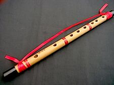 SINGLE CHINESE FENG SHUI BAMBOO HANGING FLUTE FOR GOOD RELATIONSHIP HARMONY a4