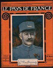 WWI Portrait Général Antoine Baucheron de Boissoudy/Bolo Pacha 1917 ILLUSTRATION