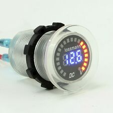 Car LED Voltage Meter 5-30V Digital Display Voltmeter Battery Detector