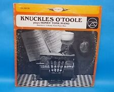 Knuckles O'toole and His Orchestra Plays Honky Tonk Piano LP GA 204 SD
