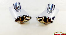 Mercedes Benz S-Class W/V220 99-02 S320 S400 S430 S500 Chrome Exhaust Tail Pipes