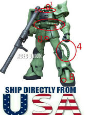 U.S. SELLER Metal Detail Up Part Set RED For 1/100 MG BANDAI ZAKU II Gundam
