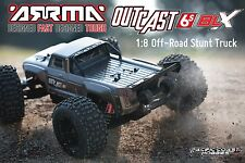 ARRMA 1:8 OUTCAST 6S Electric RC Stunt Monster Truck 4WD RTR ARAARAD84