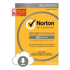 Norton Internet Security 3.0 Premium Multi Device 10 User 1 Year 2016 Retail Box