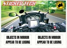 OBJECTS IN MIRROR ARE LOSING TO SUIT MOTOCROSS BIKE FMX DUCATI SUZUKI HARLEY