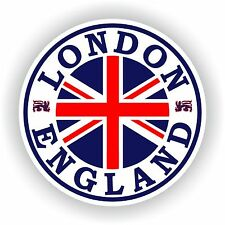 Seal Sticker of England London - Union Jack Flag Bumper Roundel Truck Laptop Car