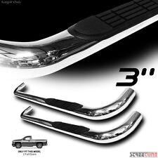 """3"""" S/S HD Chrome Side Step Nerf Bar Running Board 99-13 Silverado/Sierra Reg Cab"""