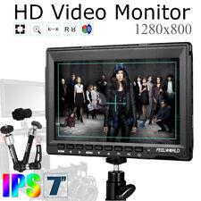 "Feelworld FW759 7"" HD IPS 1280x800 DSLR Field Monitor Display +Aputure Magic Arm"