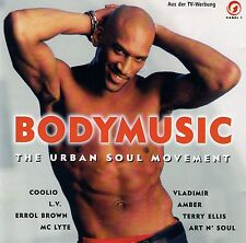 BODYMUSIC - THE URBAN SOUL MOVEMENT / CD (EASTWEST RECORDS 1996)