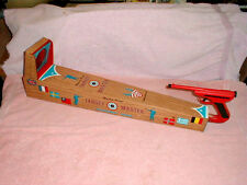 Vintage 1960's Ohio Art Mystery Pistol Target Master Shooting Game Tin Toy #2