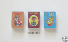 12 Mini Classic Card Games Kid Party Goody Loot Bag Filler Favor Supply