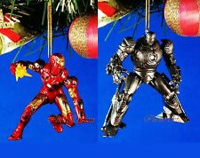 CHRISTBAUMSCHMUCK Decoration Party Home Marvel IRON MAN vs Monger *A604toA605