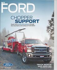 My Ford Magazine Winter 2014 Super Duty Hauls Helicopters News