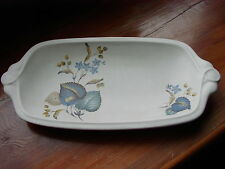 Vintage Sylvac Ware Pottery 3208 Sandwich Tray With Floral pattern 1950's