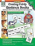 Creating Cut-Up Sentence Books, Grades PK - 1: An Effective Multi-Sensory Strate
