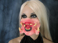 PREDATOR ALIEN MOUTH / ALIEN-MUND - Effekt Latex Horror Maske, Fangs Latexmaske
