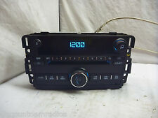 2006-2008 Chevrolet Monte Carlo Impala Radio Single Cd Player 15951757 15F113