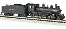 "Nickel Plate 4-6-0 Baldwin Steam Locomotive ""Ten Wheeler"" with Decoder N-Scale"