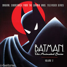 BATMAN ANIMATED SERIES Volume 2 LA-LA LAND 4-CD Ltd Edition SOUNDTRACK Mint!