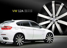 20 Inch Velocity V12 Black M wheels Rims & Tires Fit 5 X 114.3 Visit my Page