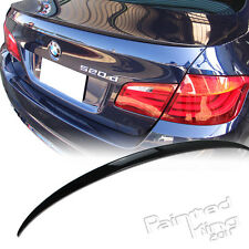 PKUK 10+ BMW 5-series F10 Boot Trunk Spoiler Rear Wing M5 Painted