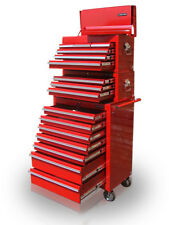 21 US Pro Tools Red Tool Chest Box Roll Steel Cabinet Toolbox FINANCE AVAILABLE!