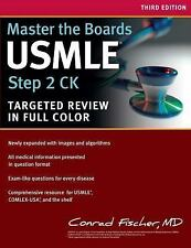Master the Boards USMLE Step 2 CK Third Edition By Fischer Kaplan Medical Test