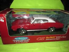 1/18 BUICK GS STAGE 1  American Muscle ERTL  Gran sport 10 fastest COLLECTORS