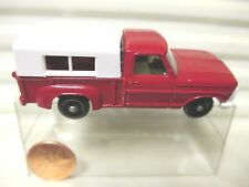 LESNEY MATCHBOX RW6D Red FORD PICK UP TRUCK BLACK (A) Base WHITE Grille MB*