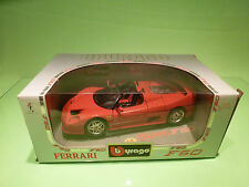 BBURAGO 3352 FERRARI F50 1:18 - RED - NEAR MINT IN BOX