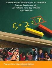 Elementary and Middle School Mathematics: Pearson New International Edition :...