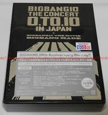 New BIGBANG BIGBANG10 THE CONCERT 0.TO.10 IN JAPAN Deluxe Edition 3 Blu-ray 2 CD