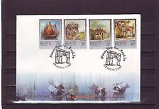 MACAO/MACAU - SG974-977 PAINTINGS OF MACAO 1/3/97 FIRST DAY COVER - FDC