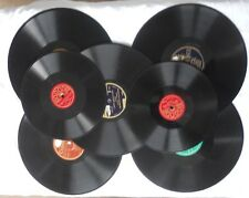 lot de 7 vinyle 78 tours ;tango ,valse ,passo doble