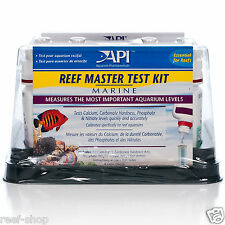API Reef Master Test Kit Aquarium Pharmaceuticals Liquid Test FREE USA SHIPPING!