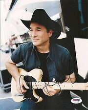 Clint Black Country Music 8x10 Photo Signed Auto PSA/DNA COA